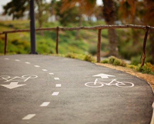 ciclovía de Bolonia